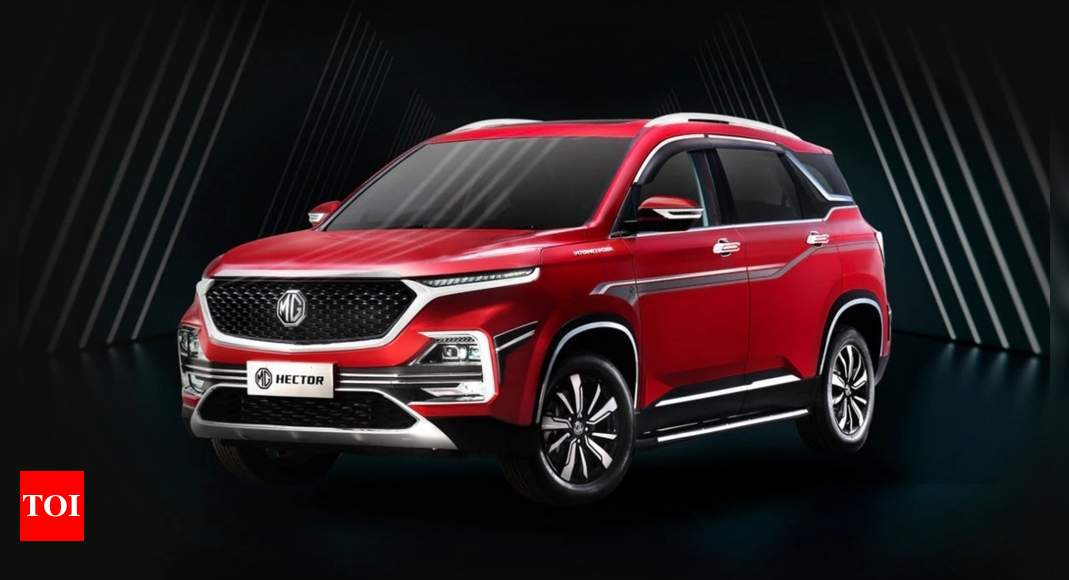 Mg Hector Plus A Year On Here S How Mg Hector Outpaced Rivals Times Of India
