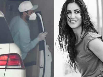 Vicky spends Sunday with Katrina Kaif