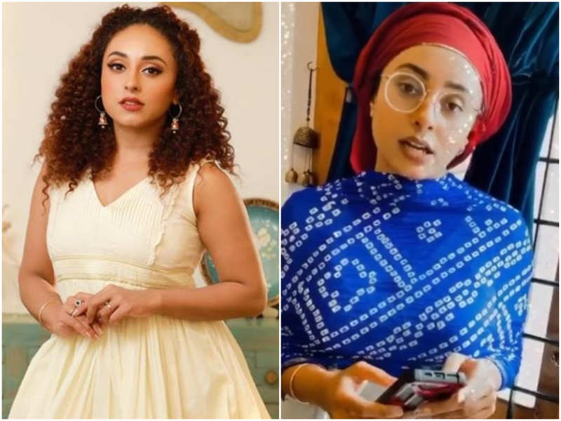 Pearle Maaney gives some goofy ideas to get rid of mobile phone addiction; watch