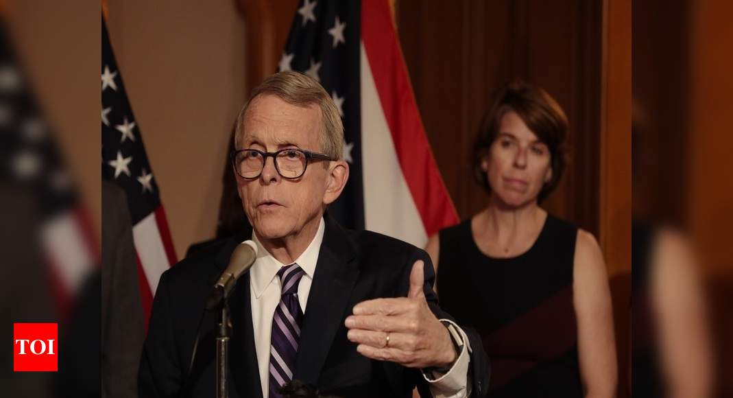 Ohio governor's conflicting Covid-19 tests raise backlash