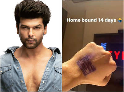 Kushal Tandon quarantined for 14 days