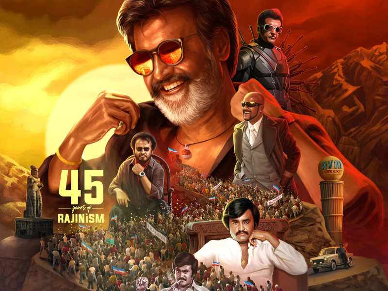 #45YearsOfRajinismCDP: Celebs reveal common DP for Rajinikanth to mark his 45 years in films