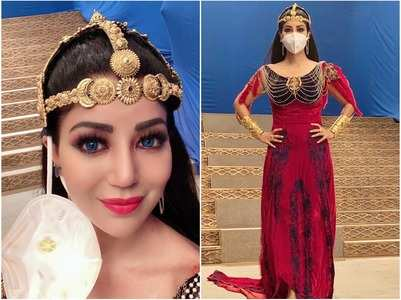 Debina wraps up her role in 'Aladdin'
