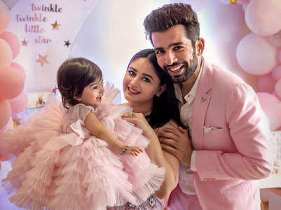 Mahhi shares a glimpse from Tara's 1st b'day