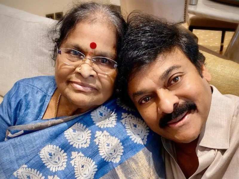 Chiranjeevi whipped up a special dish on Sunday for his mom