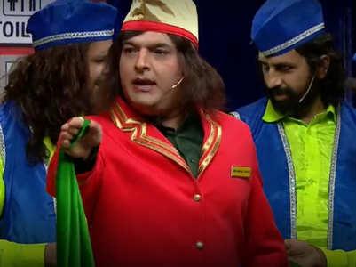 TKSS: Kapil flirts with Bachha Yadav
