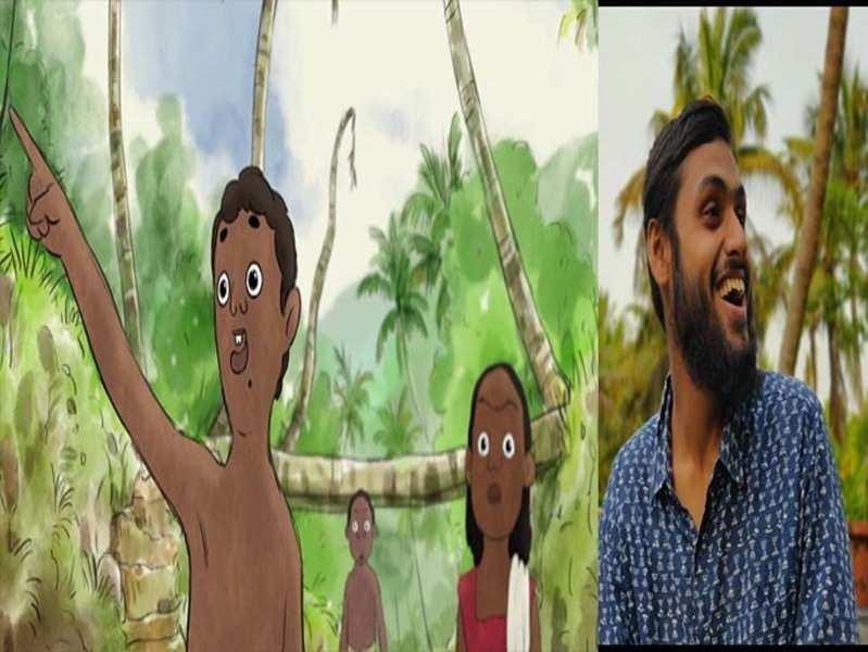 Churuli animator Balaram J comes up with a beautiful animation film