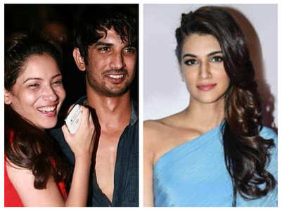 SSR's brother-in-law on Ankita -Kriti