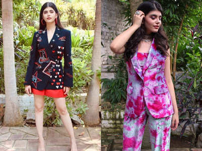 'Dil Bechara' actress Sanjana Sanghi is the latest fashionista of b-town