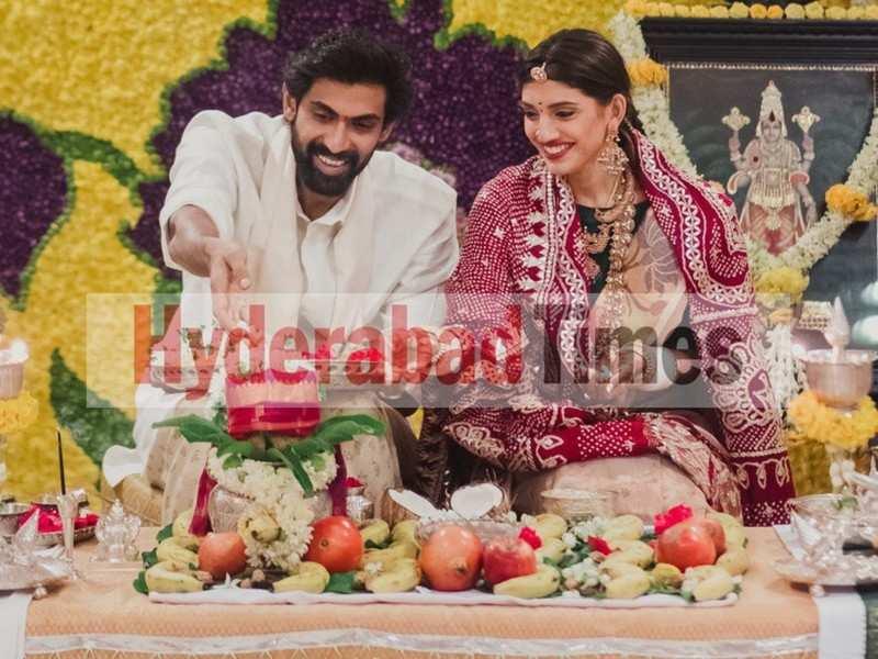 Exclusive! Rana Daggubati and Miheeka Bajaj perform the Satyanarayana Vratam at home post-wedding