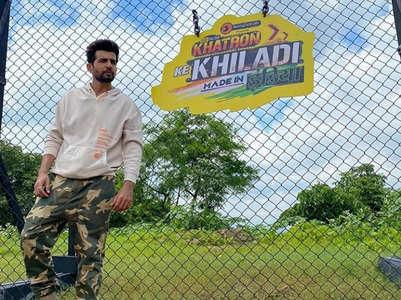 Jay Bhanushali stunts in Khatron Ke Khiladi