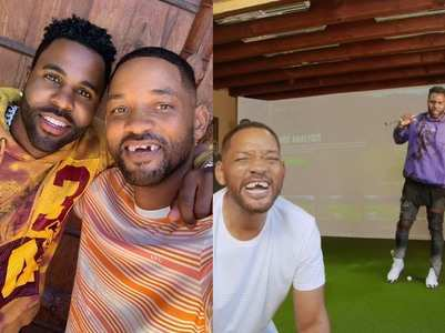 Vid: Jason Derulo knocks out Will Smith's teeth