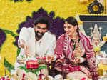 Pictures from Rana Daggubati and Miheeka Bajaj's first puja post their intimate wedding