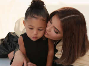 Kylie rings in b'day with daughter Stormi