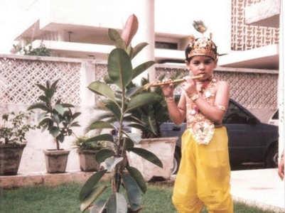 Sidharth on his 'favoruite' Janmashtami pic