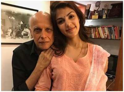 Did Rhea contact Mahesh Bhatt in June 2020?