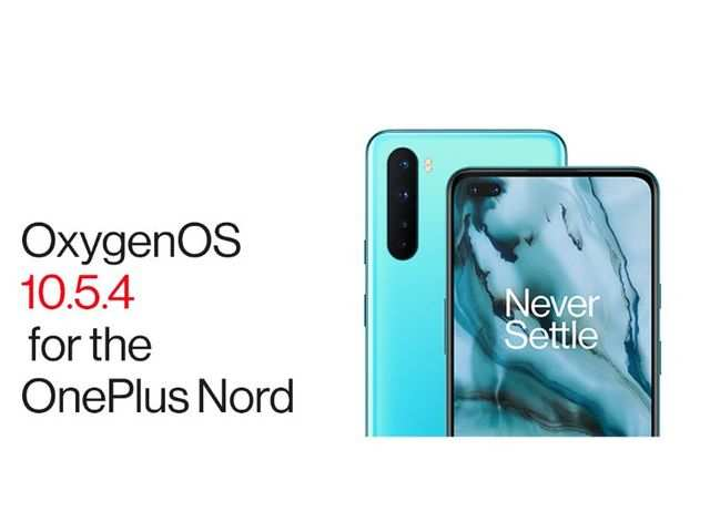 OnePlus rolls out Oxygen 10.5.4 update to OnePlus Nord
