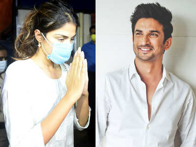 Rhea to SC: I was in love with Sushant