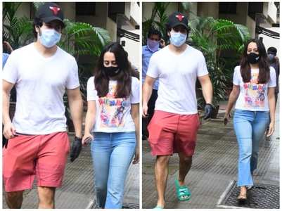 Photos: Varun-Natasha step out together
