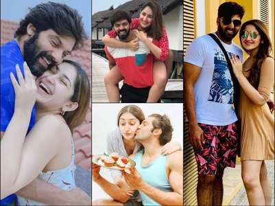 HBD Sayyeshaa: Her pictures with hubby Arya