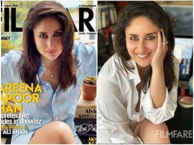 PICS: Kareena stuns on Filmfare's cover
