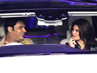 Kapil to Jacqueline: Let's go for a drive