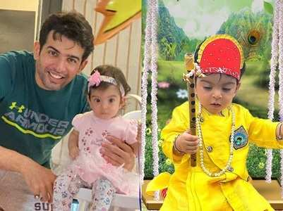 Jay's daughter turns into a cute Kanha
