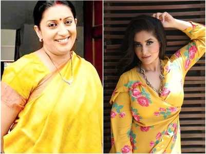 Smriti Irani has taught me so much: Shubhaavi