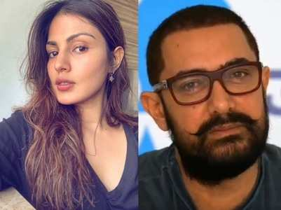 Rhea called Aamir Khan once; CDR report
