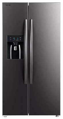 Toshiba GR-RS508WE-PMI(06) 568 L  2 Star Inverter Frost-Free Side by Side Refrigerators,Stainless Steel Finish)
