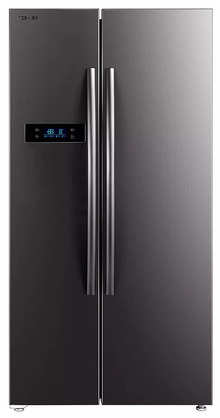 Toshiba GR-RS530WE-PMI(06) 587 L  2 Star  Inverter Frost-Free Side by Side Refrigerators Stainless Steel Finish)