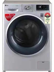 LG FHT1409ZWL 9 Kg Fully Automatic Front Load Washing Machine