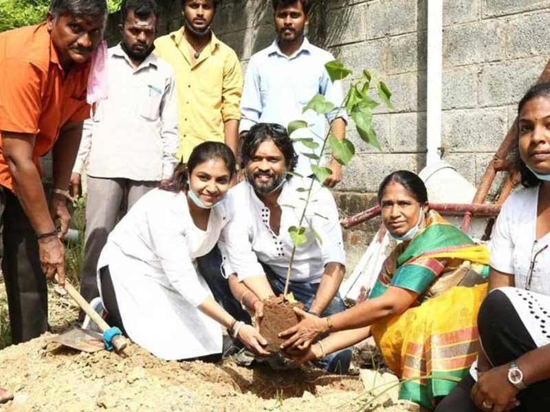 Protecting tree saplings is my ambition, says actor Soundararaja