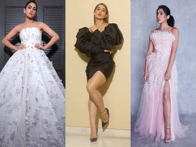 Red carpet looks of Sara Ali Khan