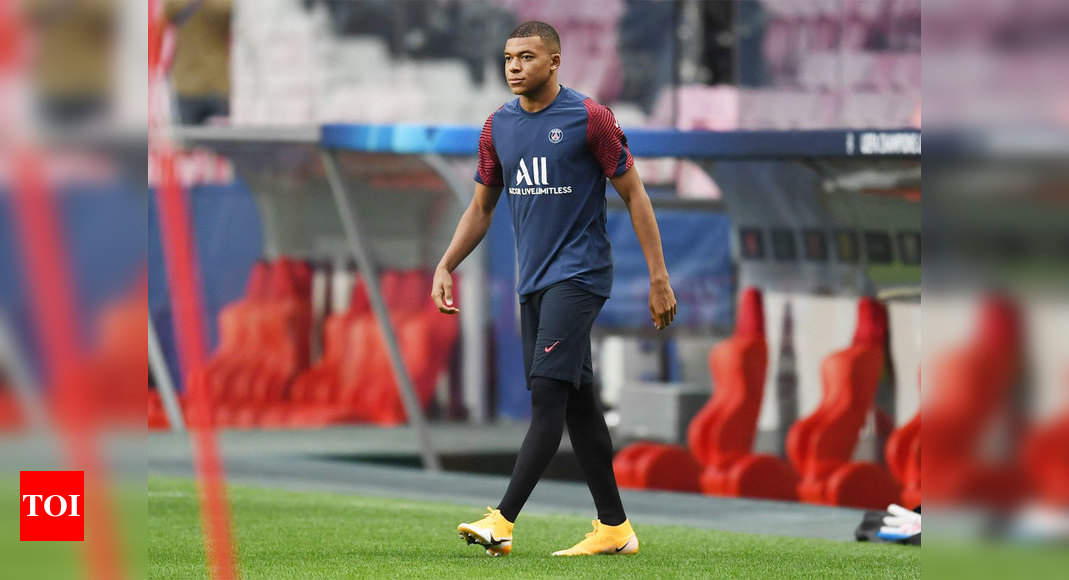 Kylian Mbappe Will Be In Team For Psg Against Atalanta After Ankle Injury Football News Times Of India