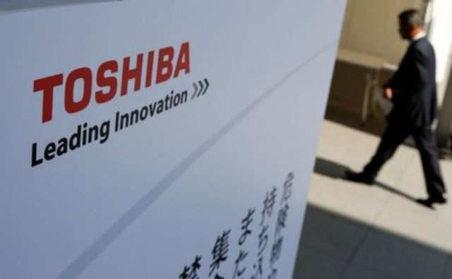 Toshiba posts first quarterly operating loss in nearly four years