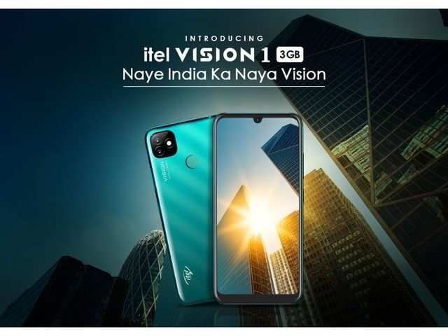 Itel Vision 1 with 3GB RAM launched in India; to go on sale on August 18 via Flipkart