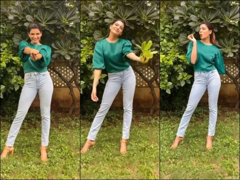 "Watch VIDEO! ""Grow Your Greens at home,"" says Samantha Akkineni in an amusing way 