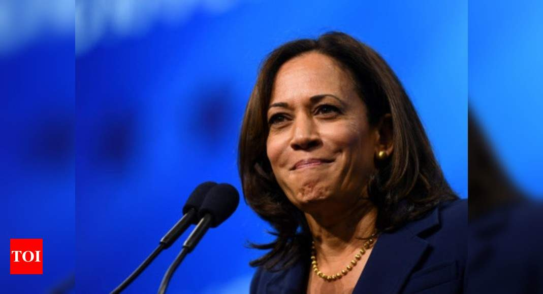 Kamala Harris The Inspiring Story Of Many Firsts Times Of India