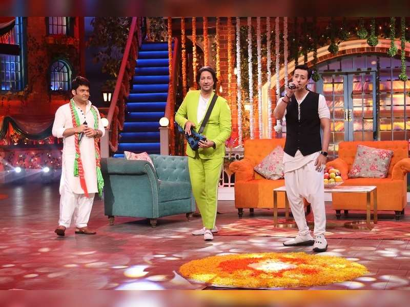Music composers duo Salim-Sulaiman at The Kapil Sharma Show