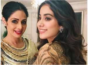 Sridevi-Janhvi's impeccable fashion sense