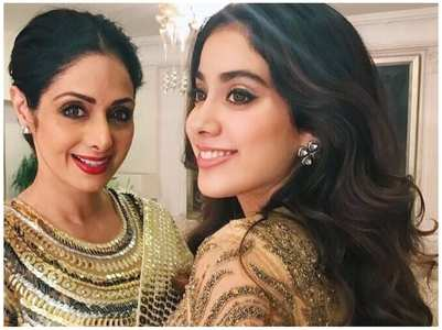 Sridevi-Janhvi's impeccable fashion sense