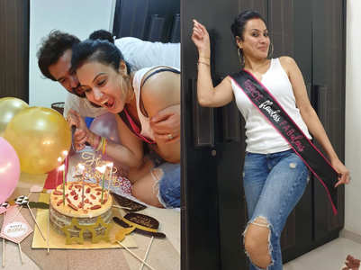 Kamya Panjabi celebrates birthday in style