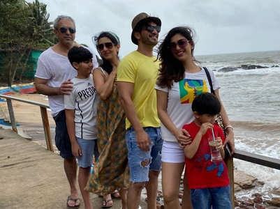 Arjun holidays in Goa with family; see pics