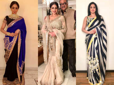 Five best saree moments of Sridevi