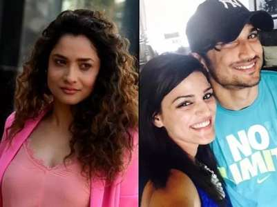 Ankita comes out to support SSR's sister