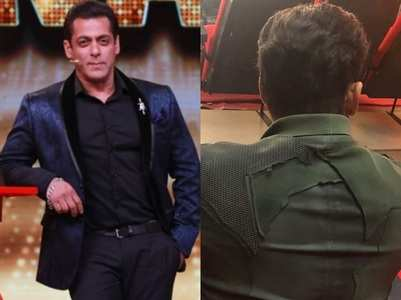 BB14: Salman shoots promo in stylish jacket