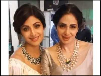 Shilpa shares a throwback post with Sridevi