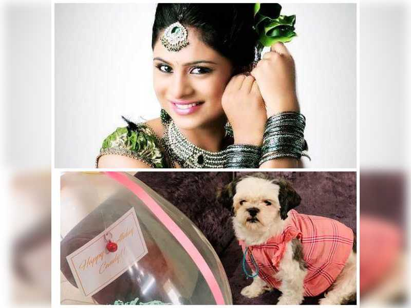 It's birthday time for Deepika Das' pet Candy