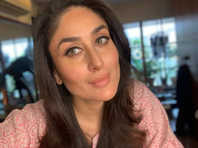 Kareena shares a selfie from a photoshoot